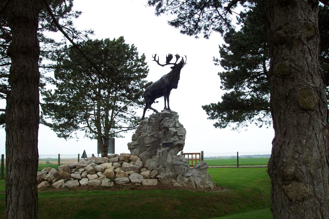 Gueudecourt Newfoundland Memorial, France