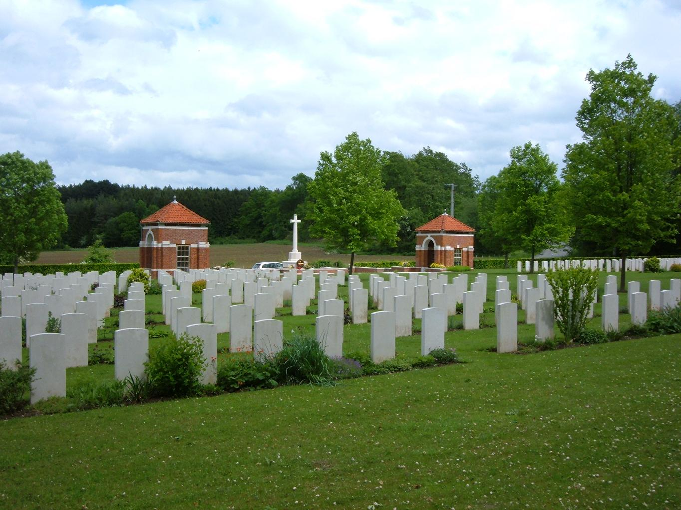 Hotton War Cemetery, Belgium
