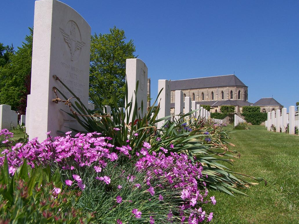 Ranville War Cemetery, France