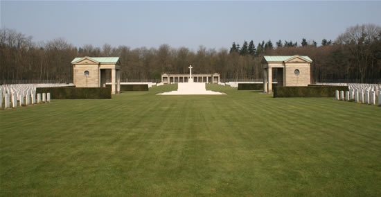 Rheinberg War Cemetery, Germany