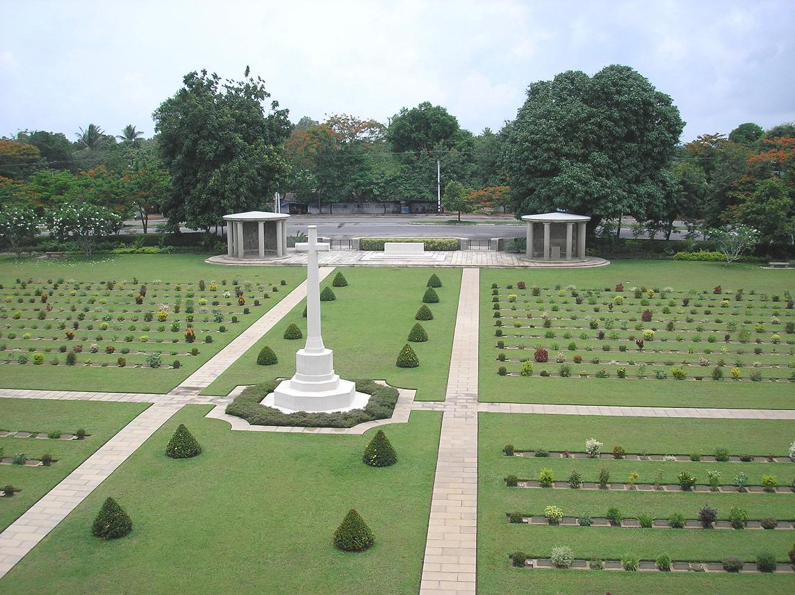 Taukkyan War Cemetery, Myanmar (formerly Burma)
