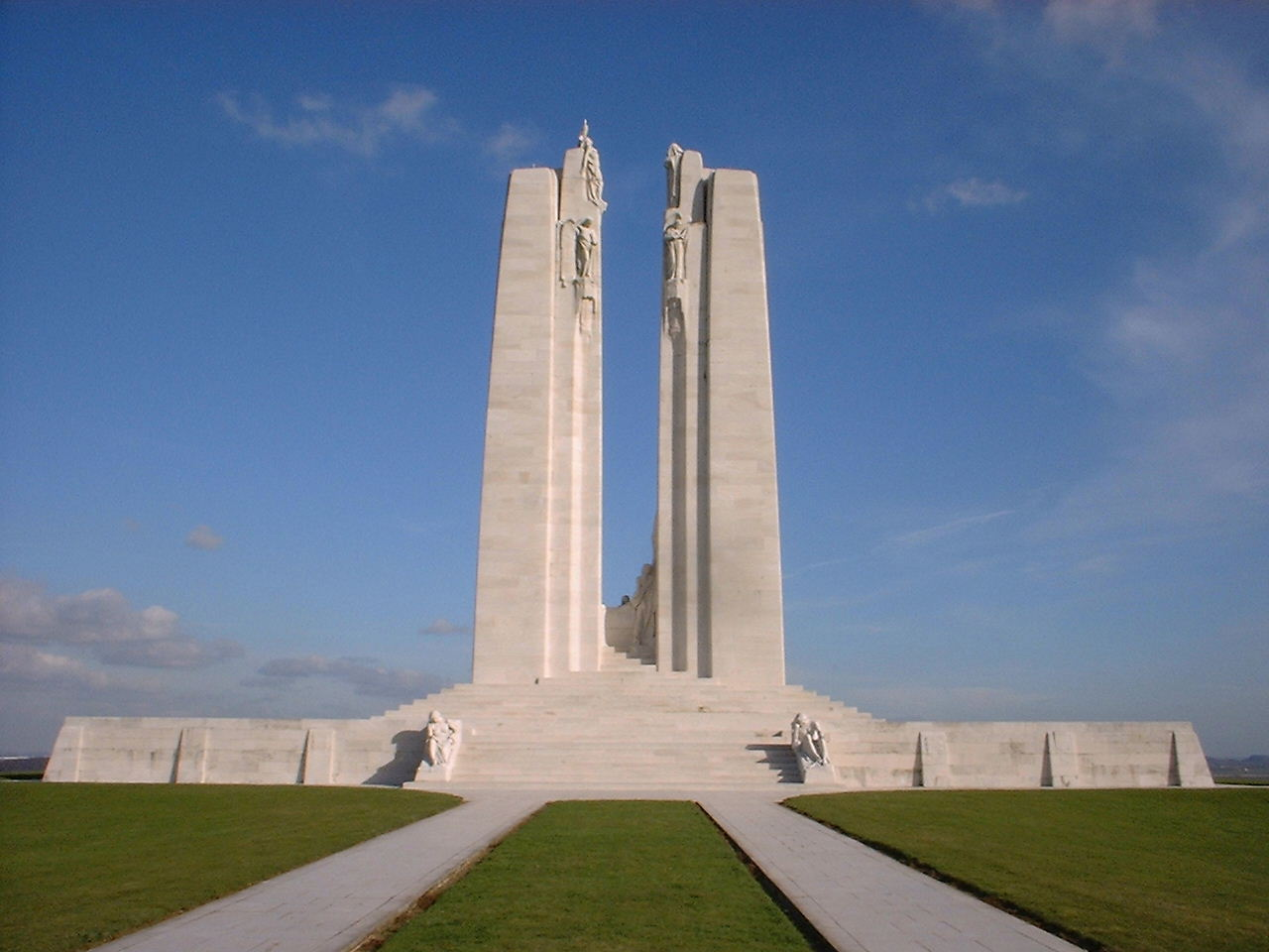 Monument commémoratif du Canada à Vimy, France