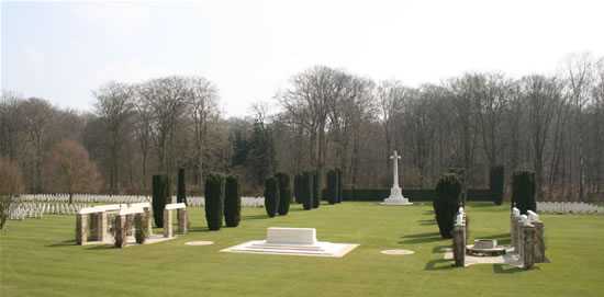 Reichswald Forest War Cemetery, Germany