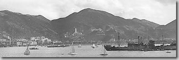 Hong Kong Harbour, November 1941.