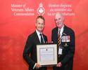 Minister of Veterans Affairs Commendation ceremony in Calgary