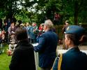 Official Government of Canada delegation attends Canadian Battlefields Foundation ceremony at the Canadian Garden, Le Memorial