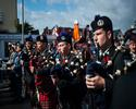 Parade and ceremony in Courseulles-sur-Mer to honour D-Day and the Battle of Normandy Veterans