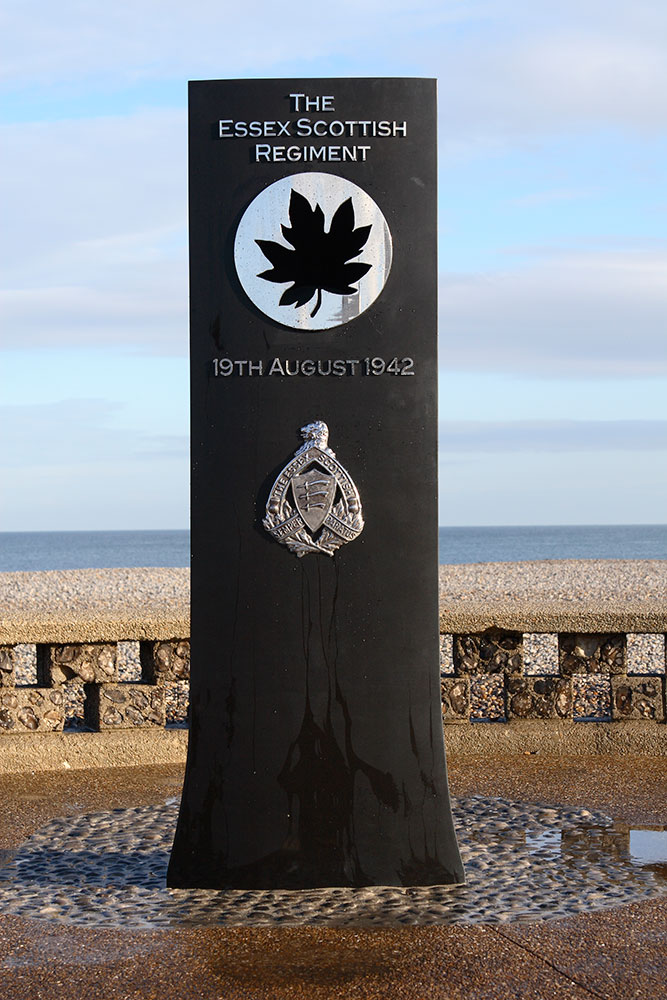 Le Mémorial de Dieppe du Essex Scottish Regiment - 19 août 1942