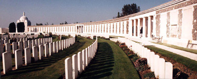 The Tyne Cot Memorial.  Credit: Commonwealth War Graves Commission