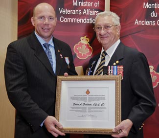 Ron Cannan, Member of Parliament for Kelowna-Lake Country and Edwin Findlater
