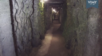 "Be part of history - ""Tunnels at Vimy"" - #Vimy100"