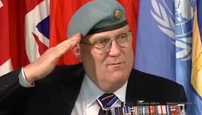 Development of Unified Canadian Forces Salute