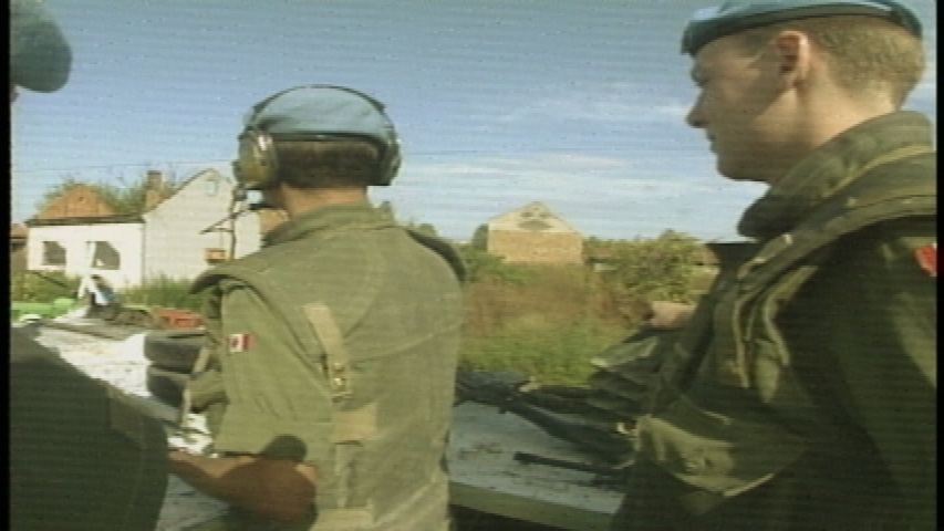 Balkans - Canadian Armed Forces in Balkans