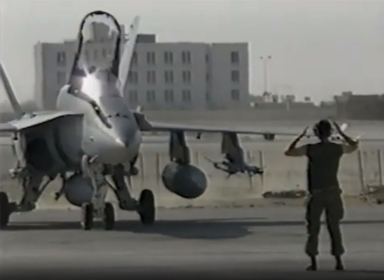 Canadian Armed Forces air operations in the Gulf War