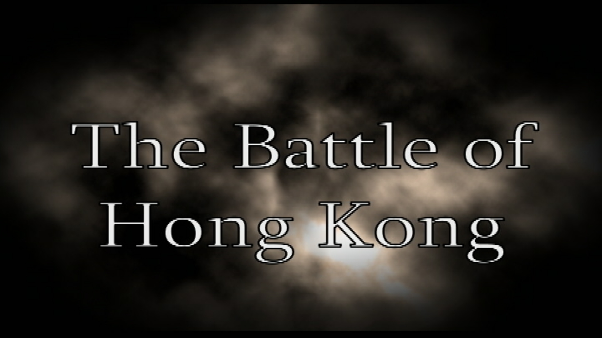 Heroes Remember Presents The Battle of Hong Kong