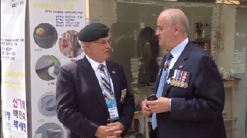 B-roll: Minister Fantino Speaks with Veteran Archie Walsh