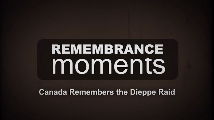 Remembrance Moments - Dieppe