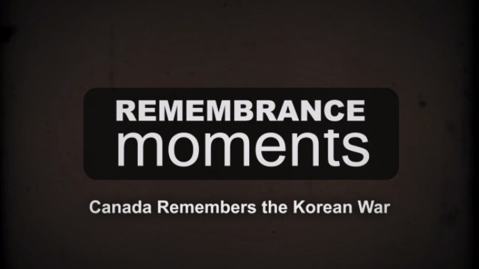 Remembrance Moments - Korean War