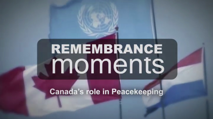Remembrance Moments - Peacekeepers