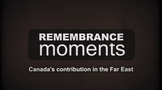 Remembrance Moments - VJ Day