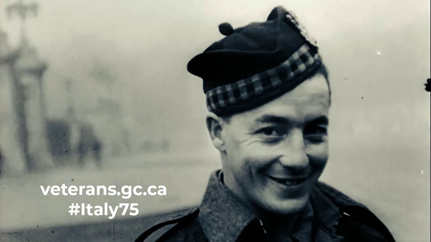 "Earnest ""Smokey"" Smith of the Seaforth Highlanders of Canada"