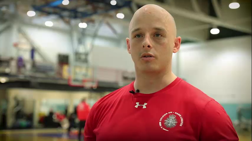 Trevor Vautour - Warrior Games athlete