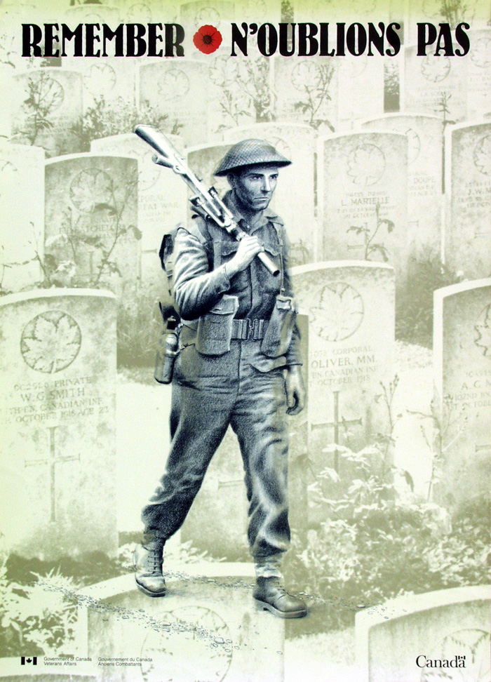 1990 Remembrance Day Poster