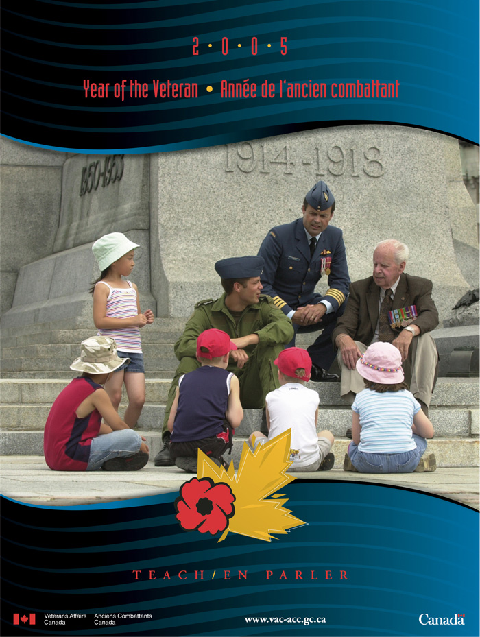 2005 Remembrance Day Poster - Teach