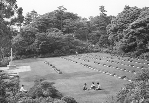 Yokohama British Commonwealth War Cemetery. <em>(Veterans Affairs Canada)</em>