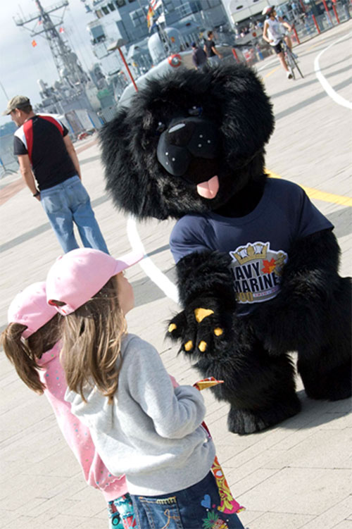 SONAR – The Royal Canadian Navy's official Mascot