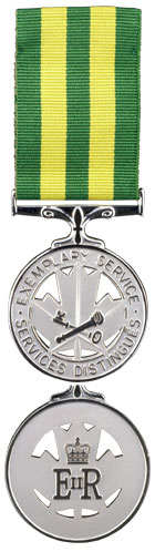 Corrections Exemplary Service Medal
