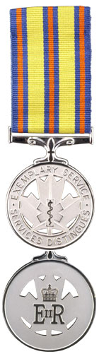 Emergency Medical Services Exemplary Service Medal