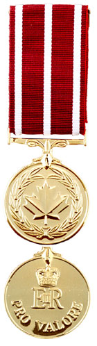 Medal of Military Valour (MMV)