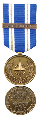 Article 5 NATO Medal for Operation