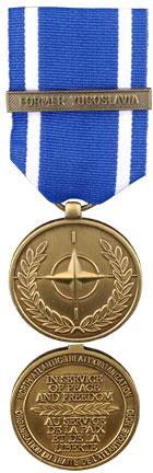NATO Medal for Former Yugoslavia (NATO-FY)
