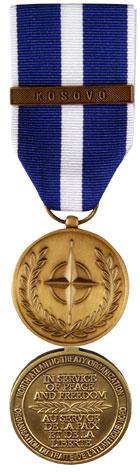 NATO Medal for Kosovo (NATO-K)