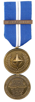 Non-Article 5 NATO Medal for Operations in the Balkans