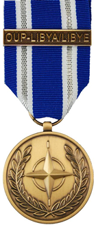 Non-Article 5 NATO Medal for Service on NATO Operation UNIFIED PROTECTOR - LIBYA
