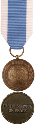 Médaille du service spécial des Nations Unies (UNSSM)