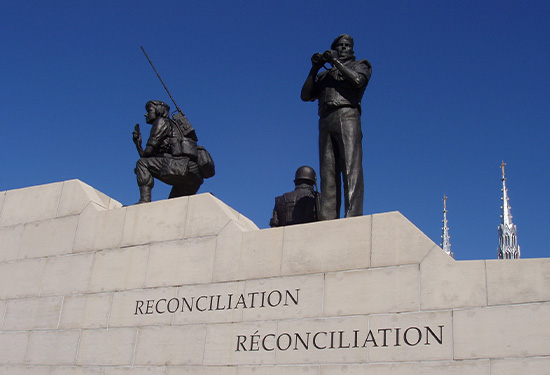Reconciliation: The Peacekeeping Monument
