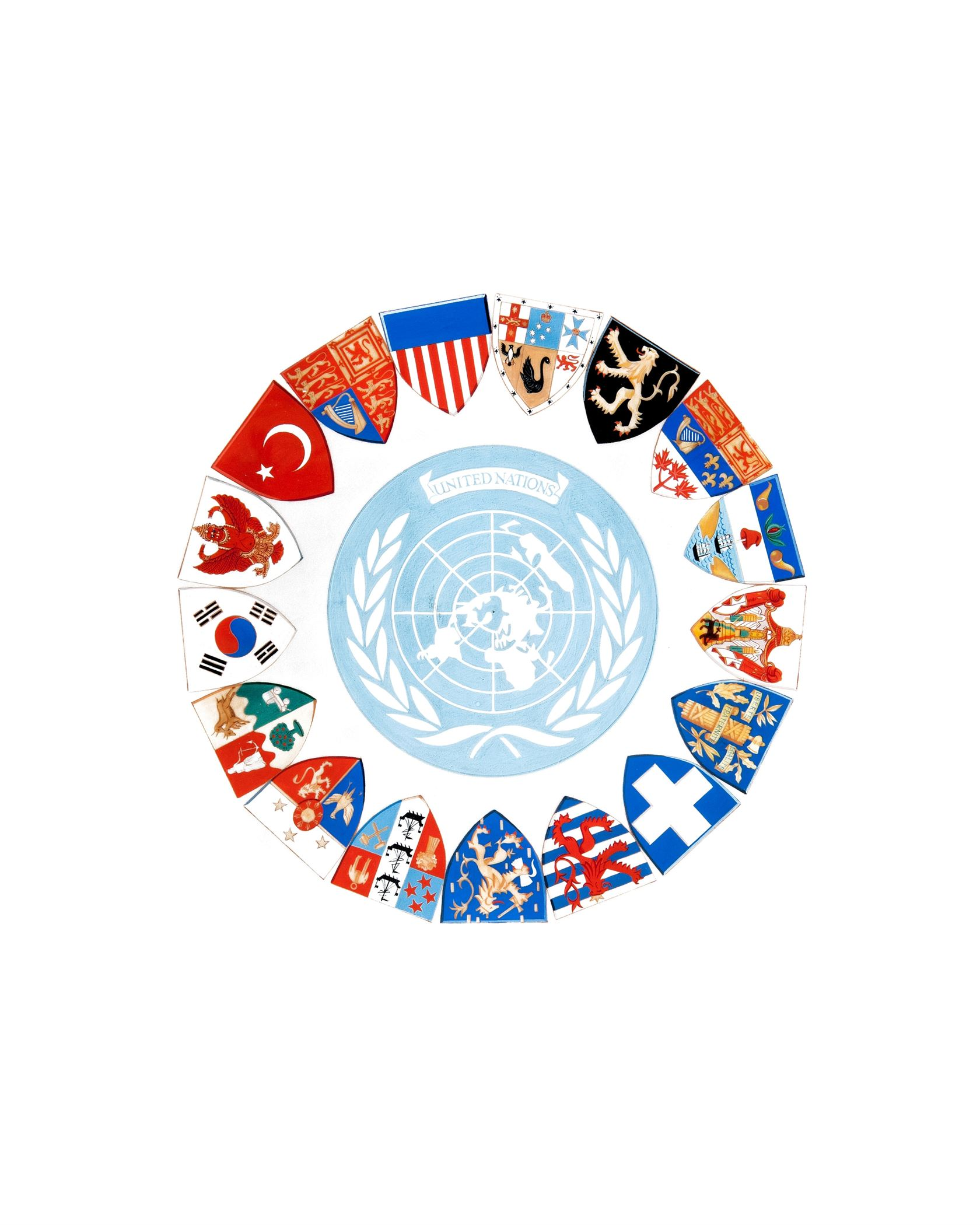 United Nations Shield - Korean War