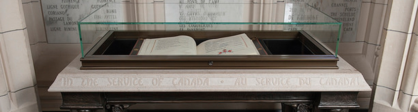 In the Service of Canada Book of Remembrance