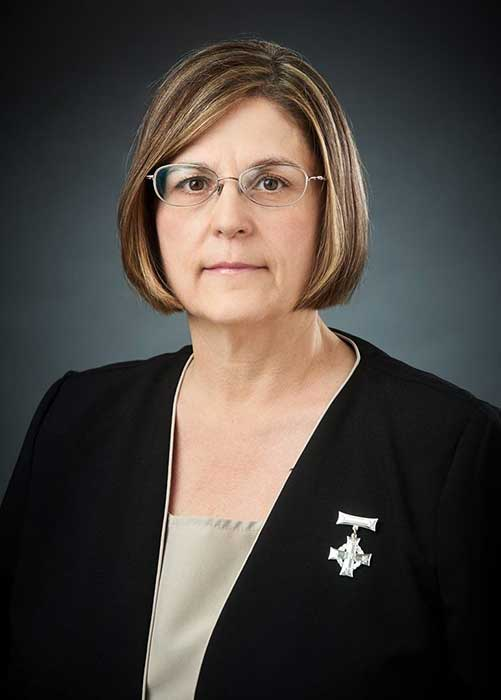 National Memorial (Silver) Cross Mother Anita Cenerini