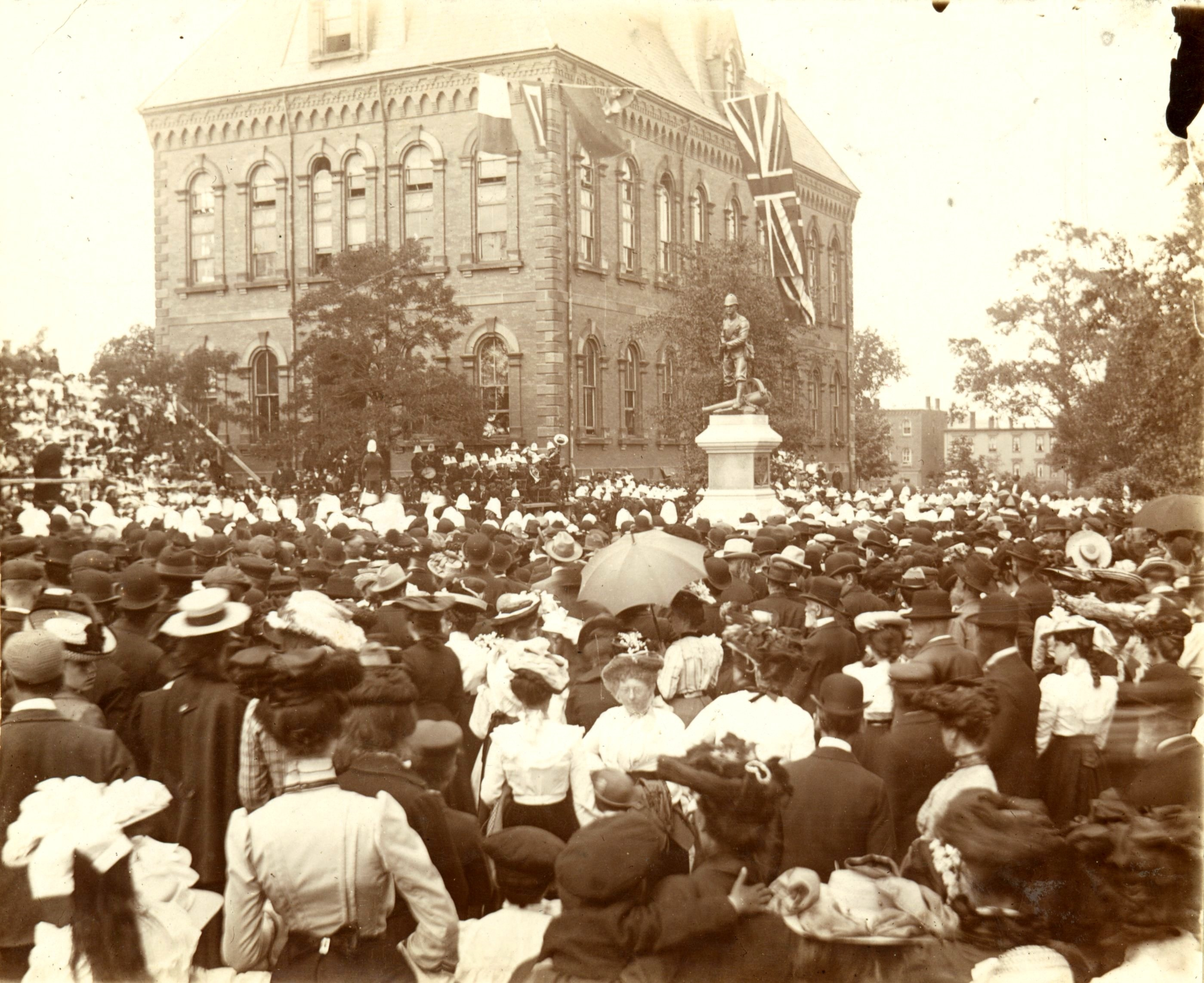 Unveiling, July 6, 1903.
