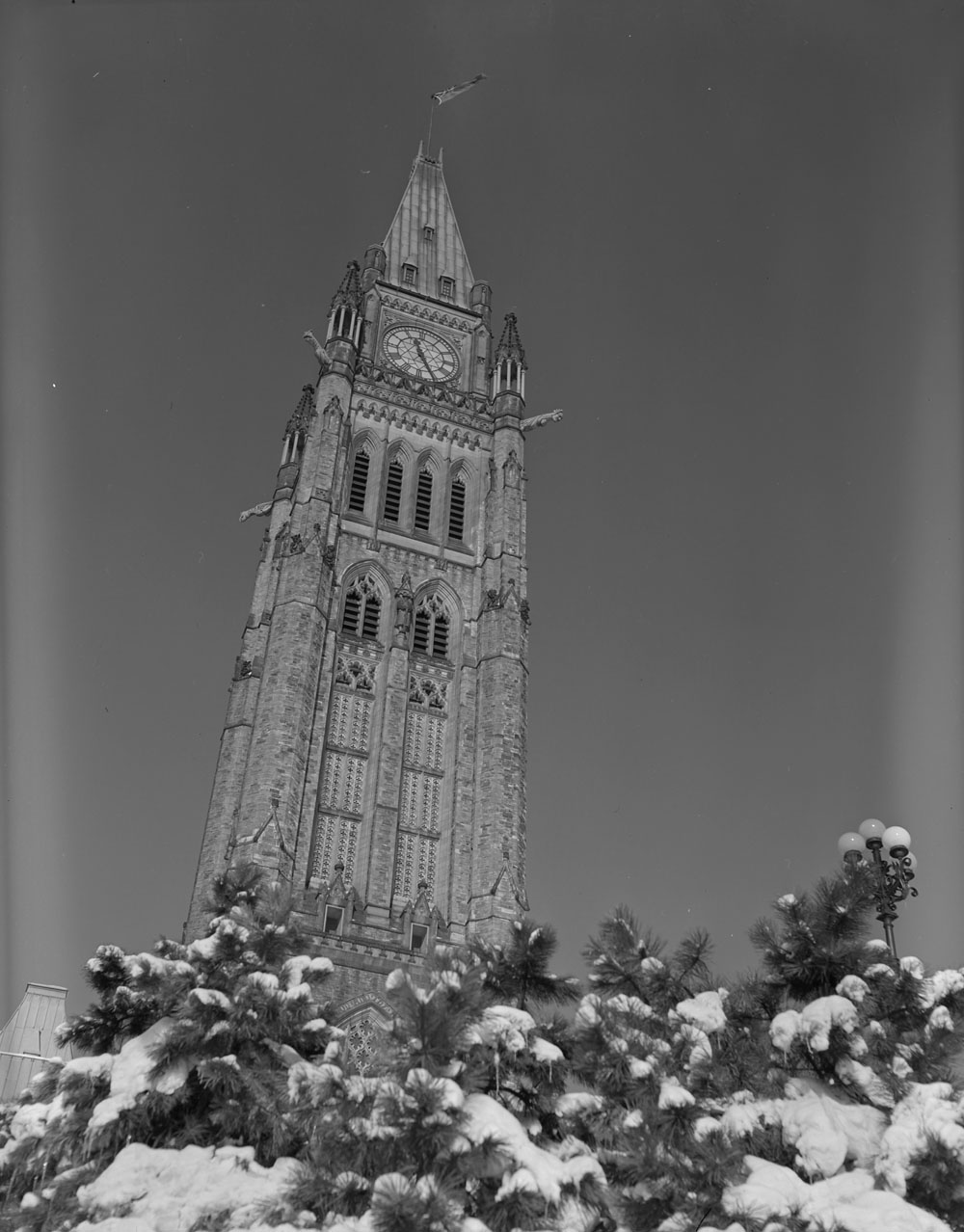 Peace Tower, 1951