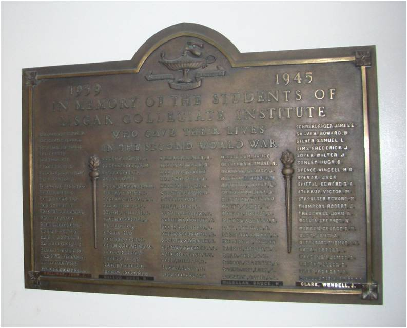 Plaque- Right view