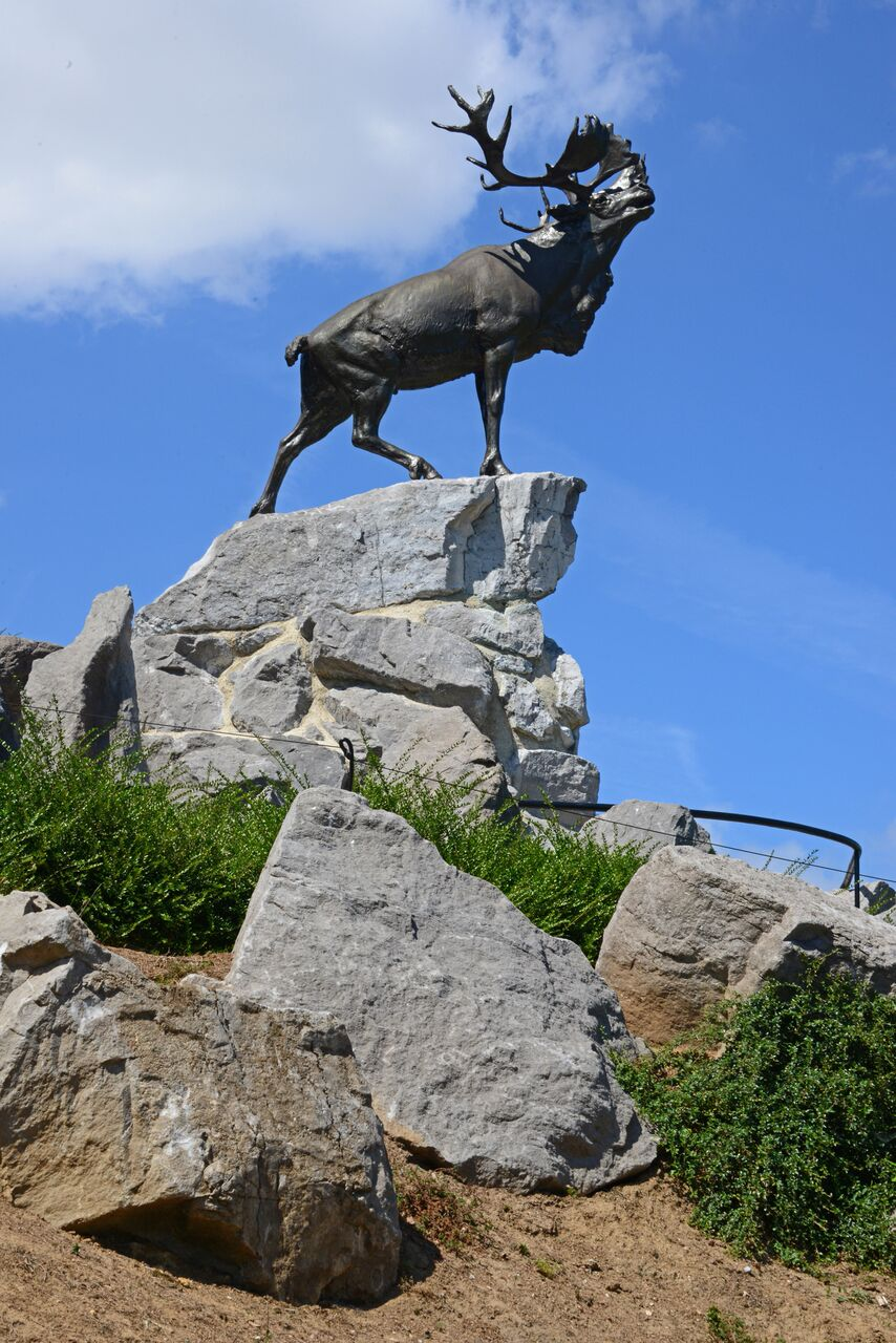Caribou Monument at the Beaumont-Hamel Newfoundland Memorial