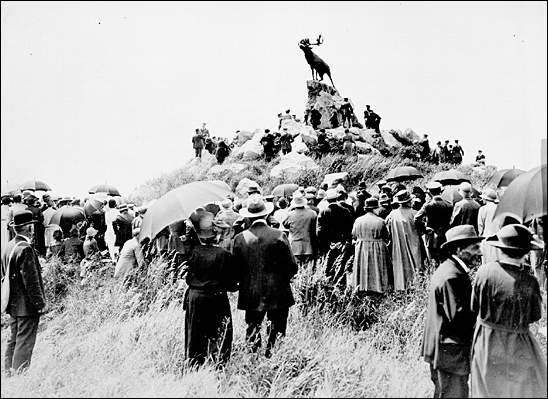 Opening of the Beaumont-Hamel Newfoundland Memorial