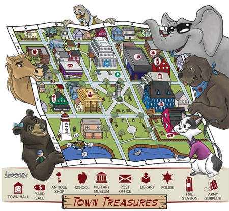 Tales of Animals in War - Town Treasures