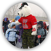 Juno the Polar Bear, mascot of the Canadian Army.